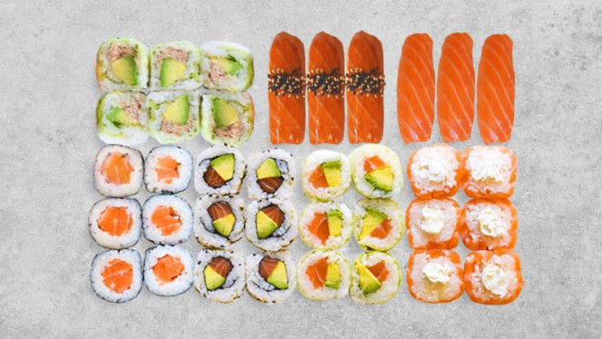 Le Best-Seller : la Box'Duo - Mika Sushi Vaise, Lyon
