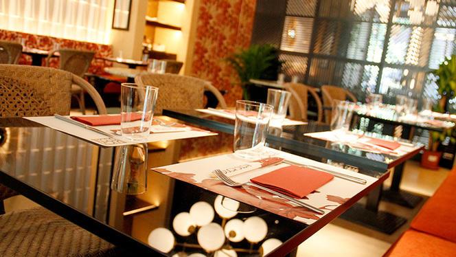 Detalle mesa - Duck & Sushi, Madrid