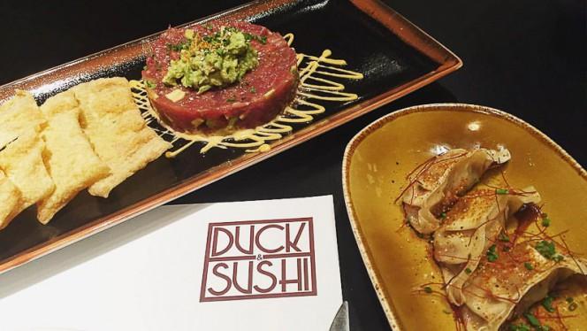 Sugerencia del chef - Duck & Sushi, Madrid