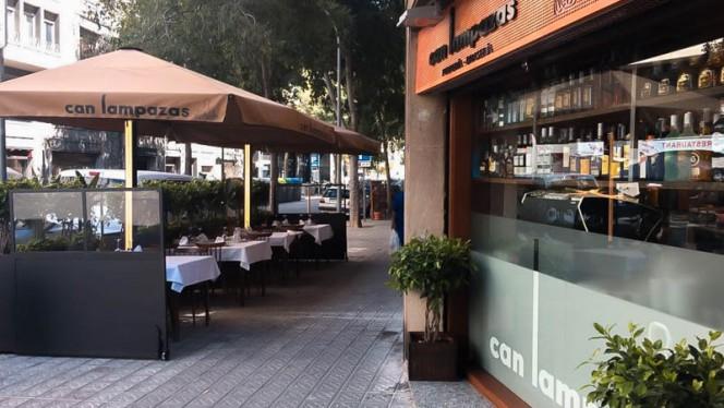 Terraza - Pulpería Can Lampazas - Buenos Aires, Barcelona