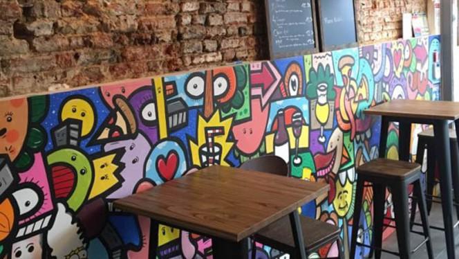 Vue de la salle - Mozz'Art, Lille