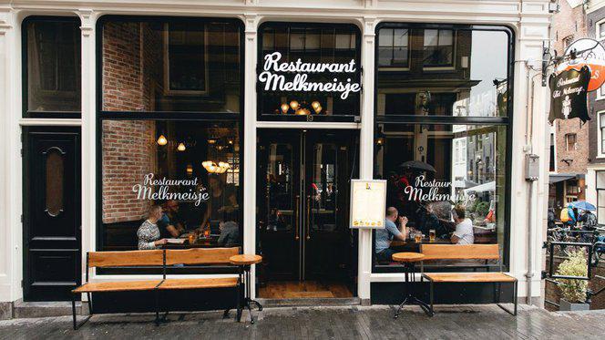 Restaurant - Het Melkmeisje, Amsterdam