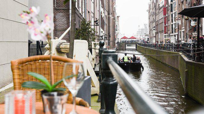 Terras - Het Melkmeisje, Amsterdam