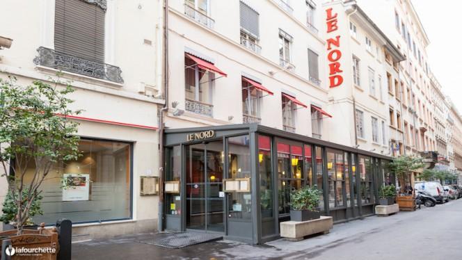devanture - Brasserie Le Nord, Lyon