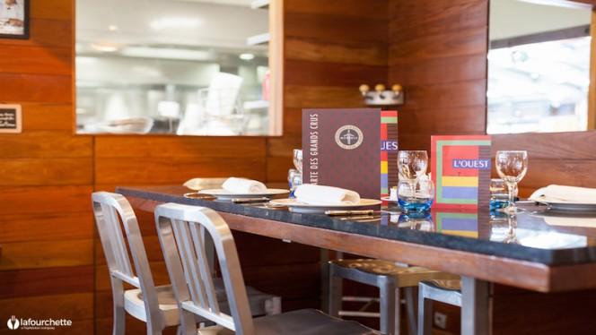 Détail table dressée - Brasserie L'Ouest, Lyon
