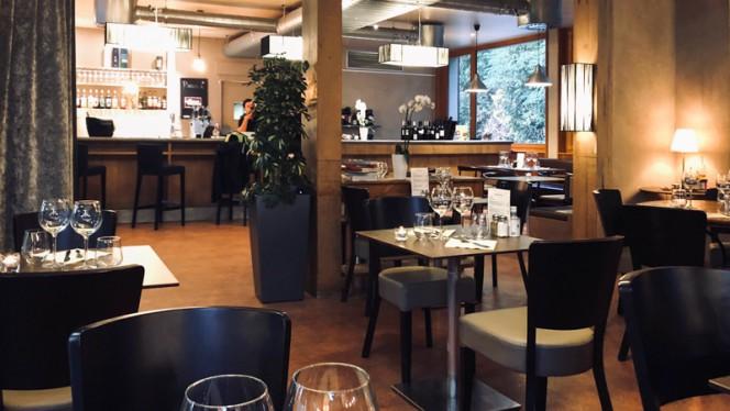Salle du restaurant - Jardins de Pinchat, Carouge