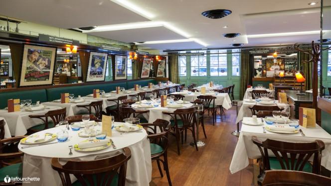 salle - Brasserie L'Est, Lyon