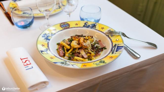 suggestion du chef - Brasserie L'Est, Lyon