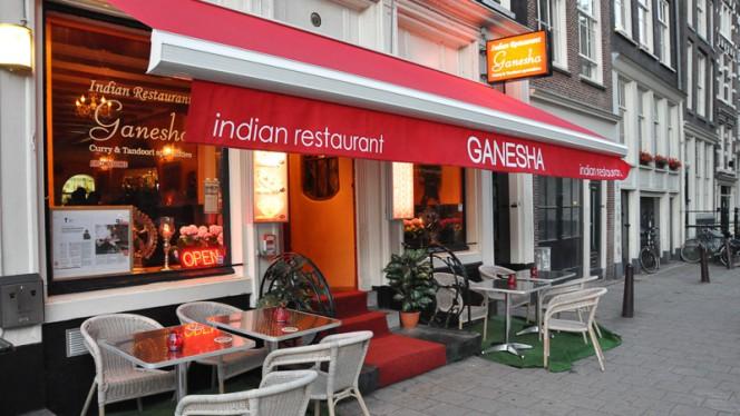 Ingang - Ganesha Indian Restaurant, Amsterdam