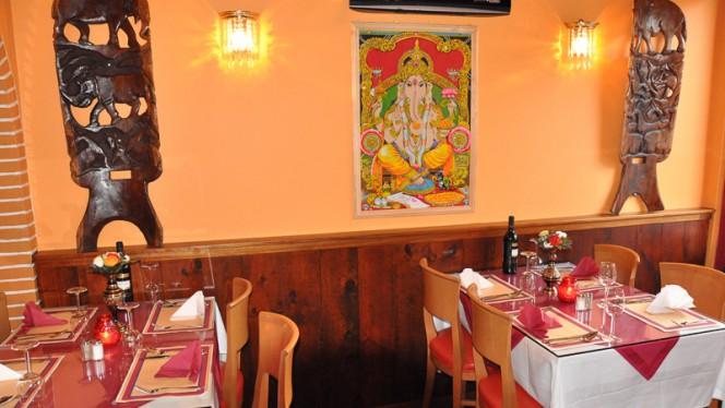 Restaurantzaal - Ganesha Indian Restaurant, Amsterdam