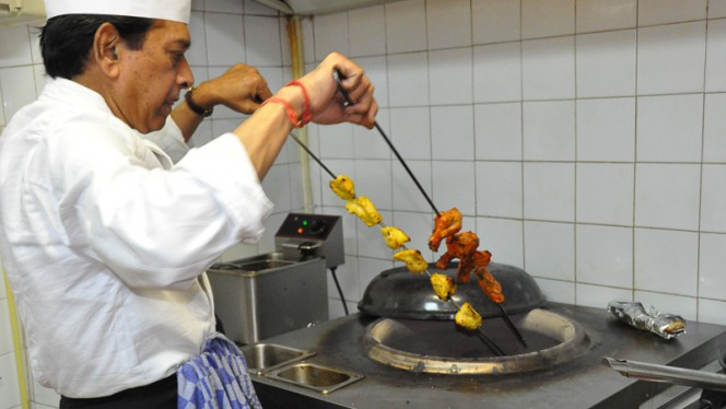Specialiteit van het huis - Ganesha Indian Restaurant, Amsterdam