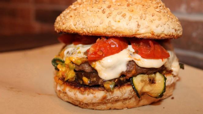 Burger Green - Pinsa Street, Rome