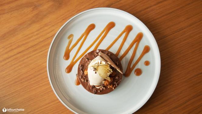 vue détail dessert - Lauracée - Christophe Negrel, Marseille