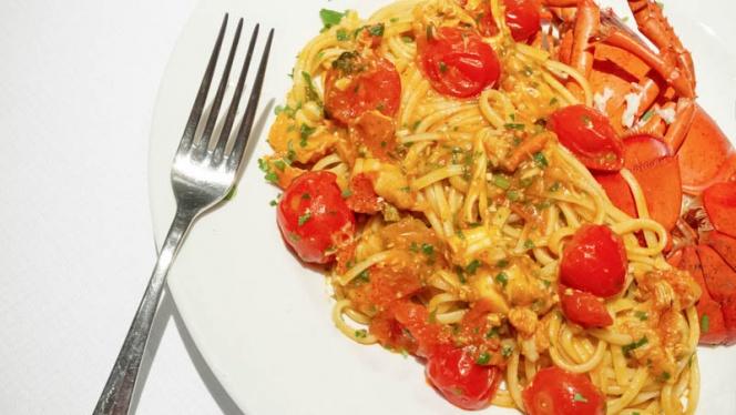 spaghetti - Skyline Restaurant, Milan
