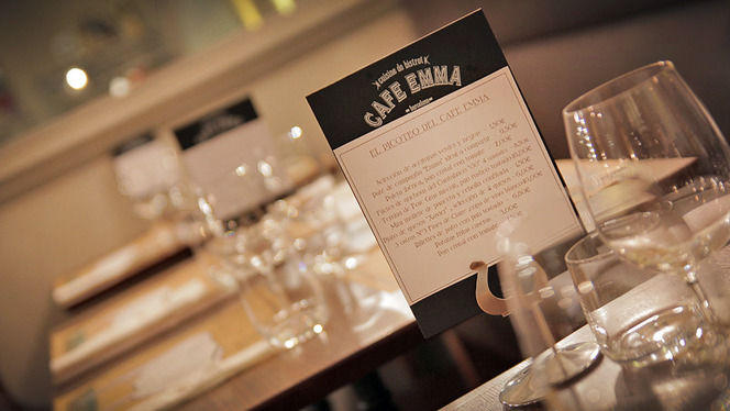 detalle mesa - Café Emma, Barcelona