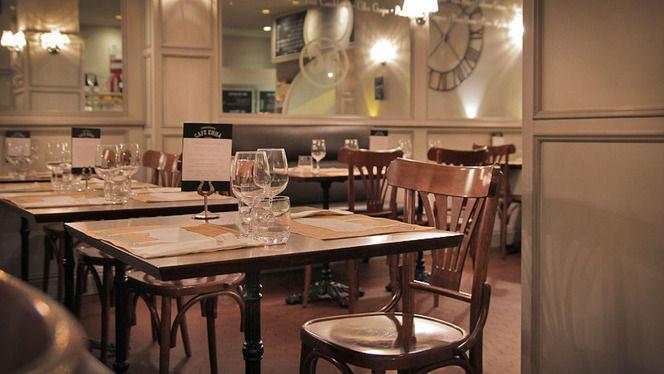 detalle mesas - Café Emma, Barcelona