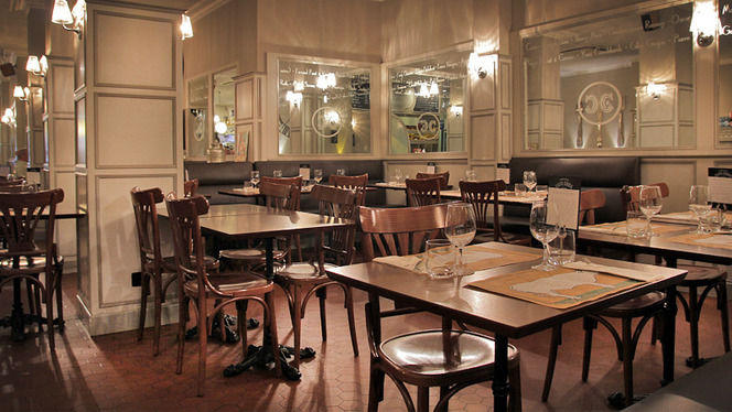 sala interior - Café Emma, Barcelona