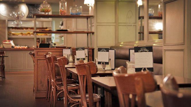 vista mesas - Café Emma, Barcelona
