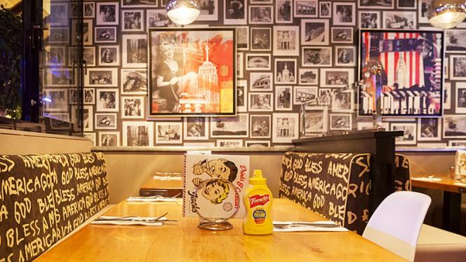 Vista sala - Jacks American Brasserie - Benalmádena, Benalmadena