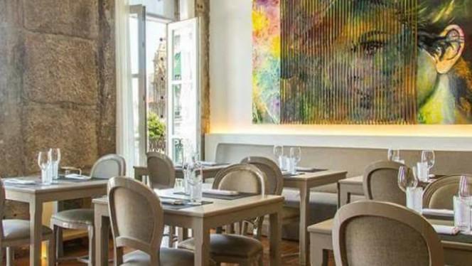 vista da sala - Sushi Lapa, Braga