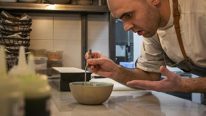 Chef Pedro Silva - La Tartarería - Raw Food, Barcelona