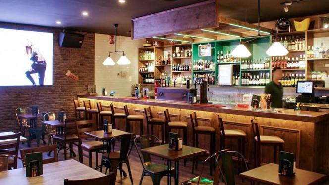 Vista del interior - Irish Pub Taranis, Leganés