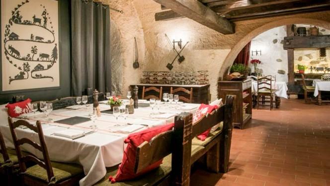 Second Hall - Restaurant Le Museum, Montreux