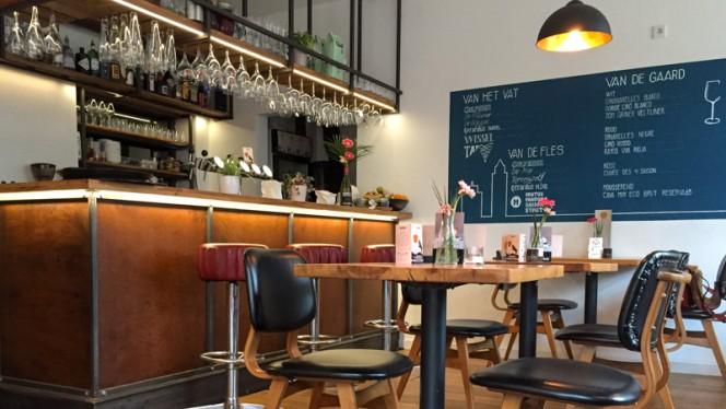 Het restaurant - Van de Straat, Utrecht