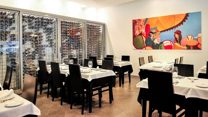Sala interior - Sem Dúvida, Lisboa
