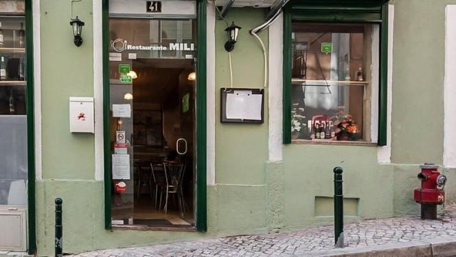 Fachada - Mili, Lisboa