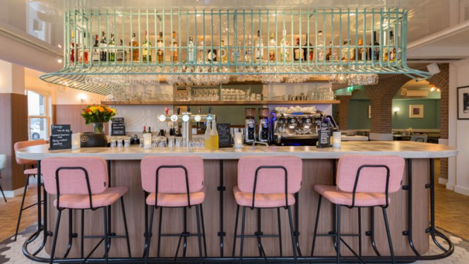 Het restaurant - Grand Café 1884, Amsterdam