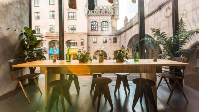 Restaurangens rum - MAMA Kungsgatan, Stockholm