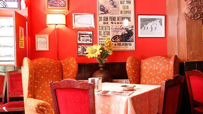 Detalle sala - Kyiv Café Racer, Madrid
