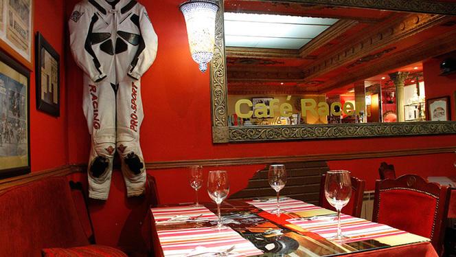 Vista interior - Kyiv Café Racer, Madrid