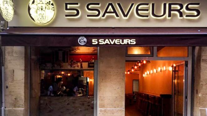 Devanture - 5 Saveurs, Bordeaux