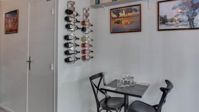 Vue de l'intérieur - Resto INDIWAY, Paris
