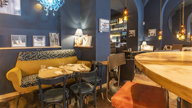 Vista della sala - Palazzaccio Ristorante Cocktail Bar, Roma
