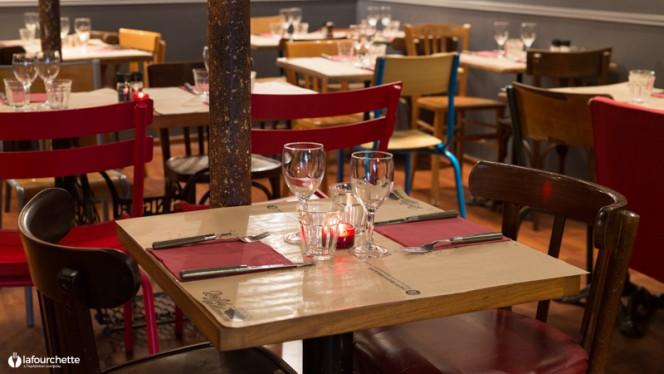 Détail tables - Les Fils à Maman Toulouse, Toulouse