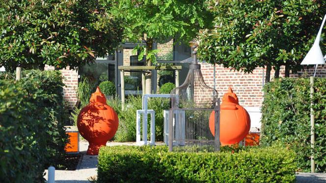 Terrasse - La Table des Jardins,