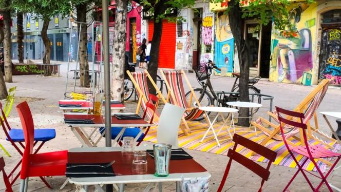 Terrasse - Oogie, Marseille