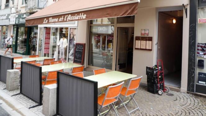 Entrée - Le Verre et l'Assiette, Lyon
