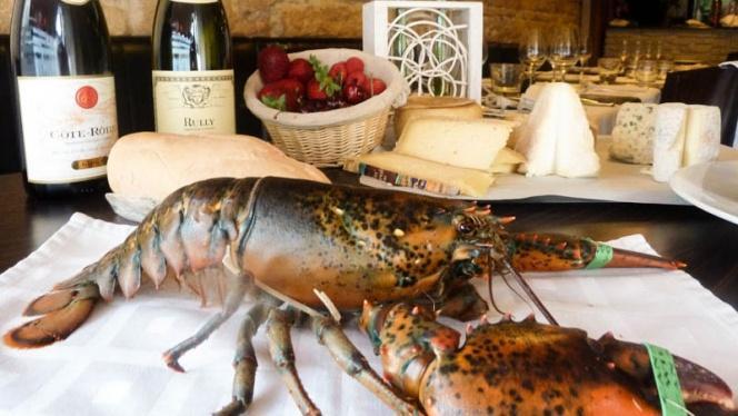 Vue homard - Le Verre et l'Assiette, Lyon