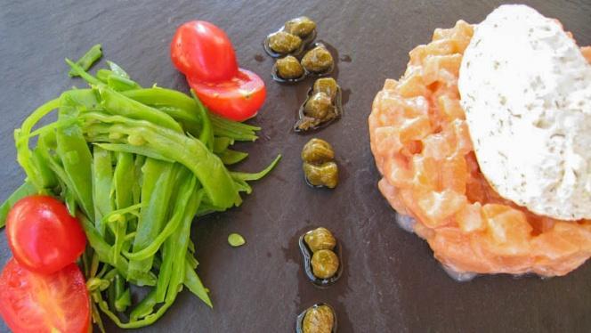 Vue plat - Le Verre et l'Assiette, Lyon