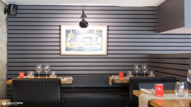 La salle - M Restaurant, Lyon