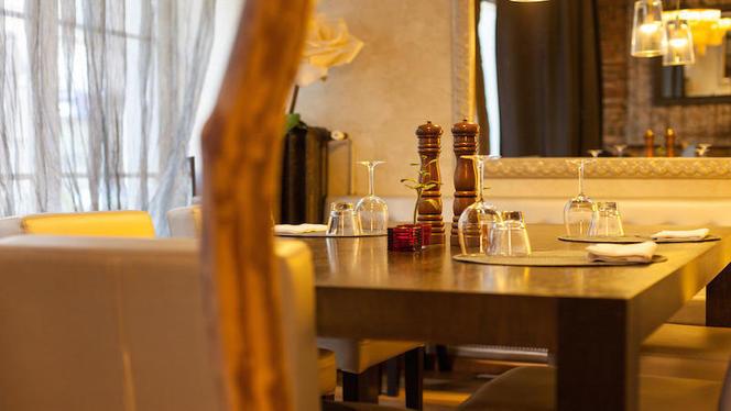 Table dressée - Le Plato, Lyon