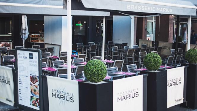 terrasse - Brasserie Marius, Lyon