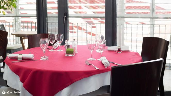 Table dressée - Le Karo, Toulouse