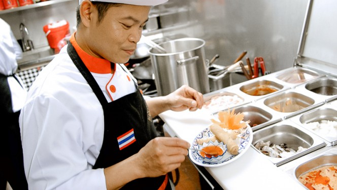 Chef - Song Kwae Thai Food, Amsterdam