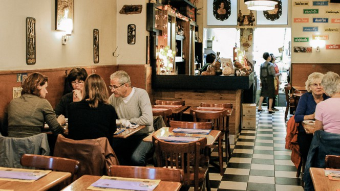 Dining room - Song Kwae Thai Food, Amsterdam