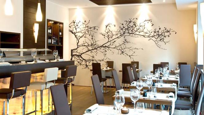 Vista sala - Hana Restaurant, Milan